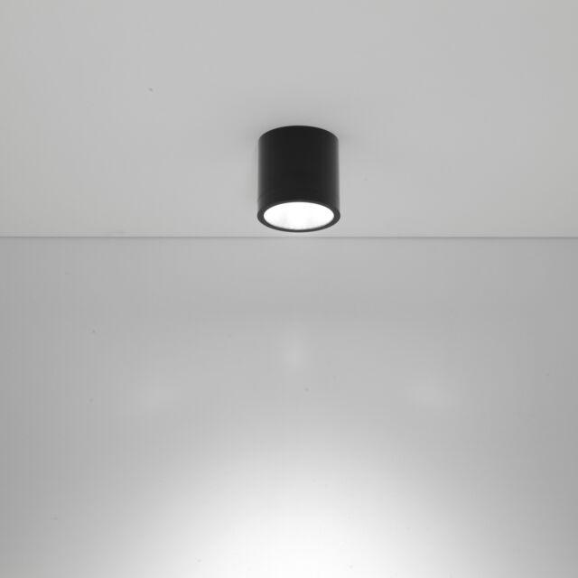Plafoniera Nobile LED 10W K 50° gradi IP20 colore nero