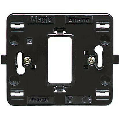 Supporto Bticino Magic 1 posto scatola tonda 500S/1