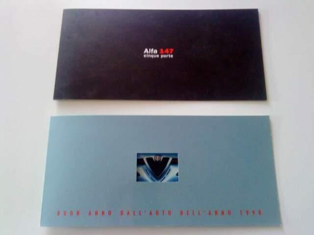 Alfa Romeo cartoline 156 Auguri di Buon Anno, 147