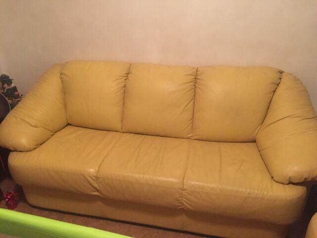 Due divani in pelle