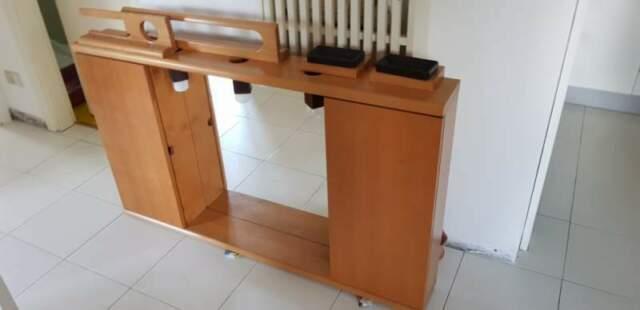 MOBILETTO BAGNO di legno con accessori