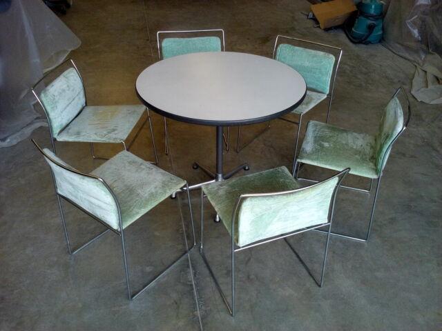 N°6 sedie + Tavolo rotondo