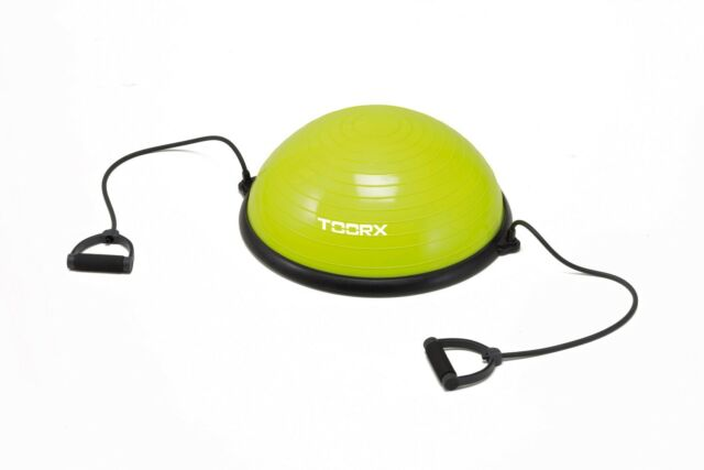 Palla bosu da ginnastica Ø 58 cm con elastici e pompa