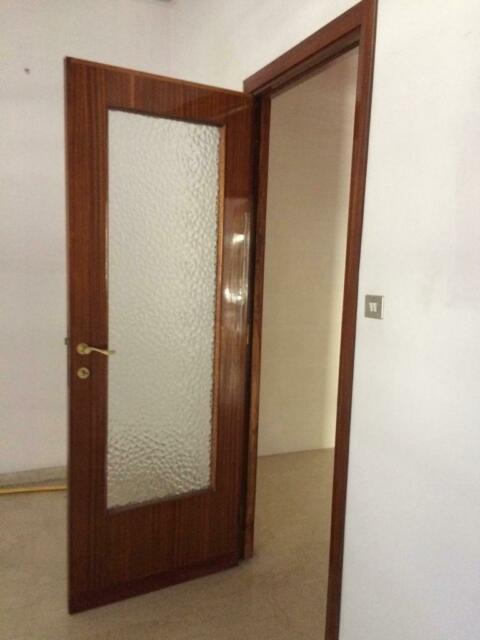 Porte in legno con vetro