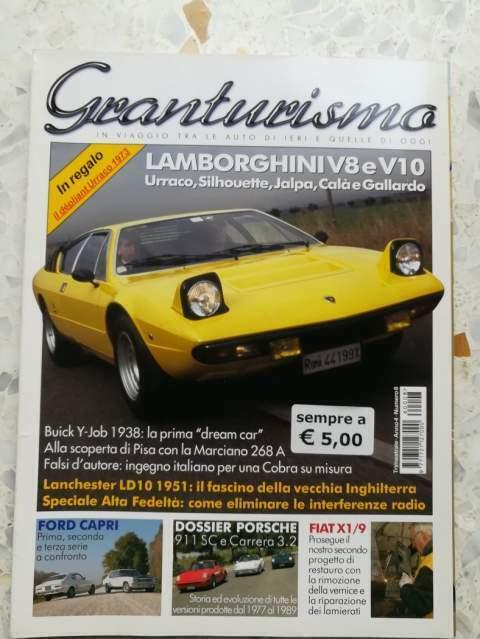 Rivista Porsche 911SC Carrera 3.2 AC COBRA FORD CAPRI Fiat