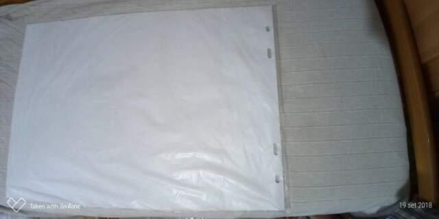 Blocco fogli di ricambio per flipchart 20 pagine di ricambio
