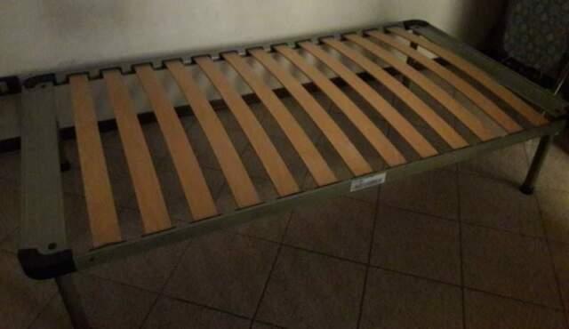 Rete metallica singola per letto posot class for Eminflex singolo a 79 euro