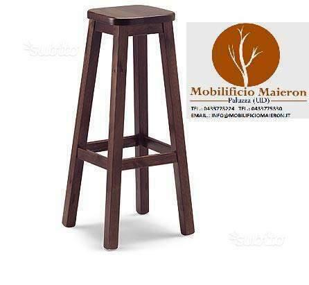 Sgabelli in legno per ristorante pub cod  nuovi
