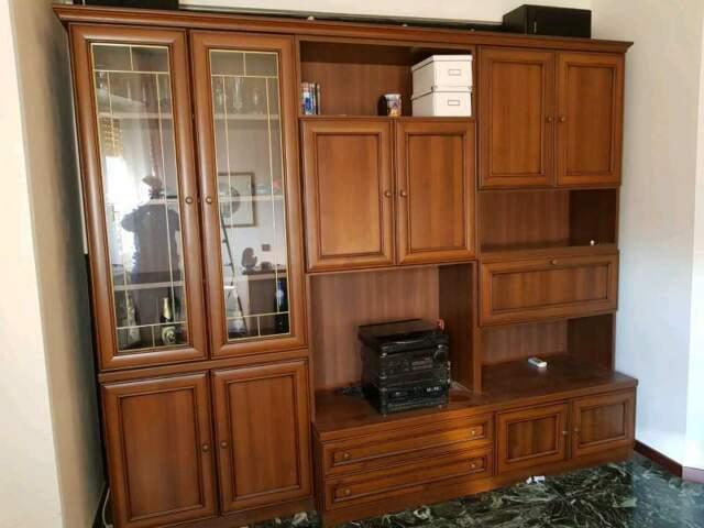Mobili soggiorno classico color legno | Posot Class