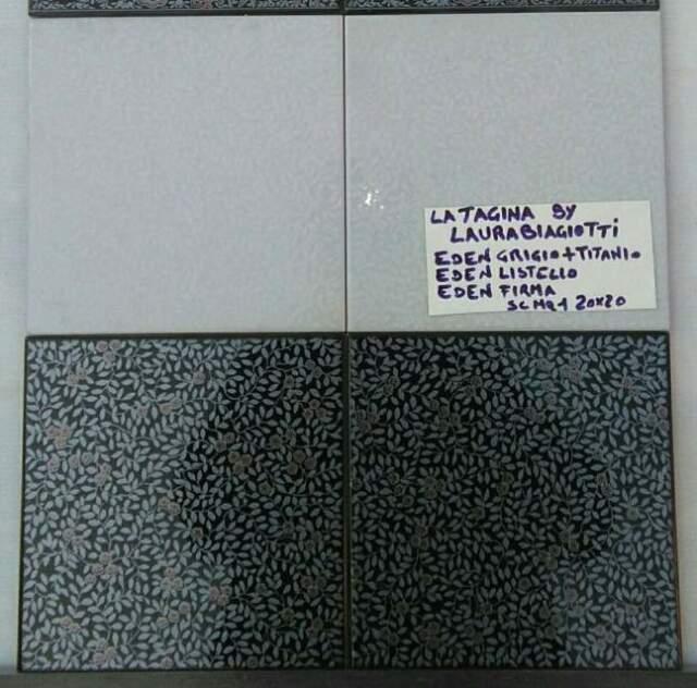 Stock piastrelle bagno completo firma Laura Biagiotti 1^