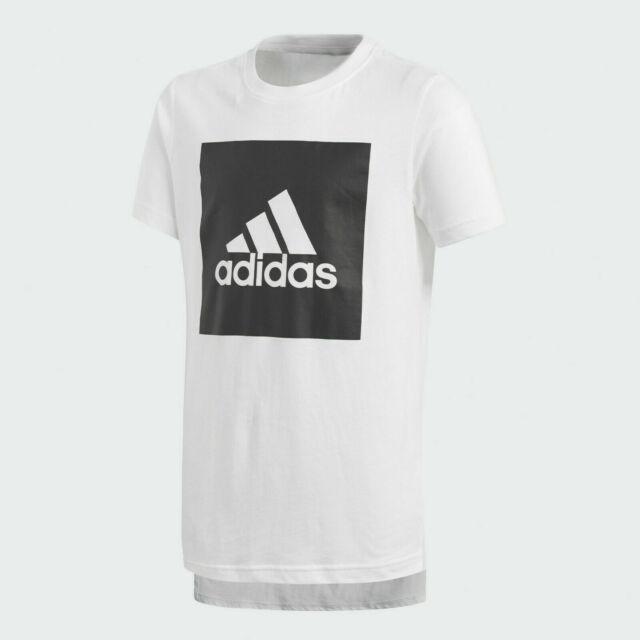 Adidas t-shirt cf yb logo tee 2 bambino maglia maglietta