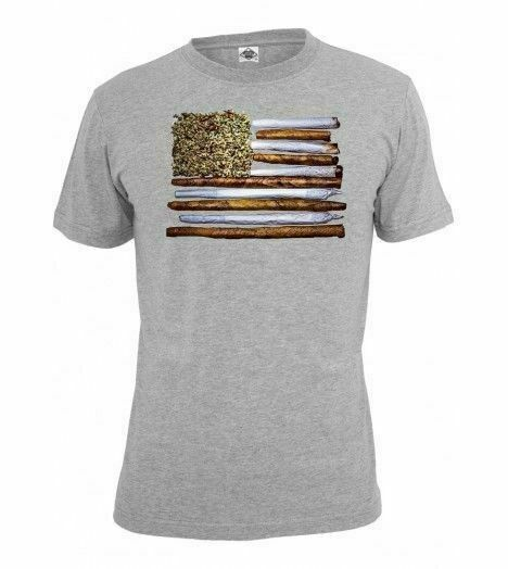 Mister tee - tshirt t-shirt maglia maglietta state of weed