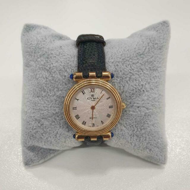 Orologio da polso cyma dorato