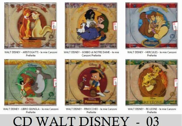 CD WALT DISNEY 21 rari da collezione