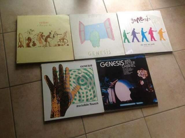 LP 33 giri in vinile Genesis/Phil Collins/Steve Hackett
