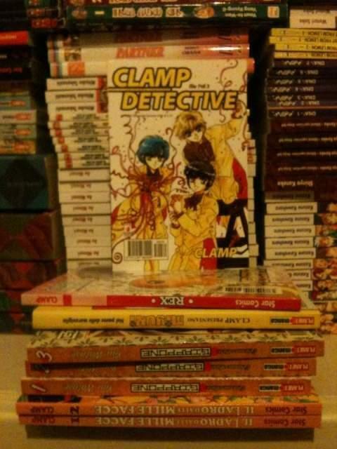 Manga lotto miniserie Clamp e Yuu Watase
