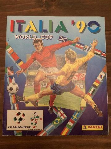 ALBUM FIGURINE PANINI ITALIA 90