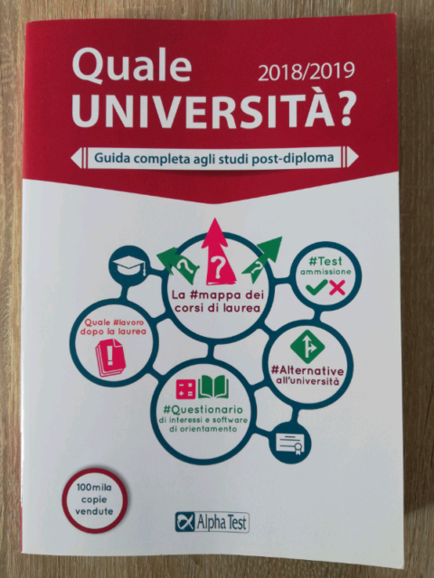 AlphaTest Guida completa agli studi post-diploma università