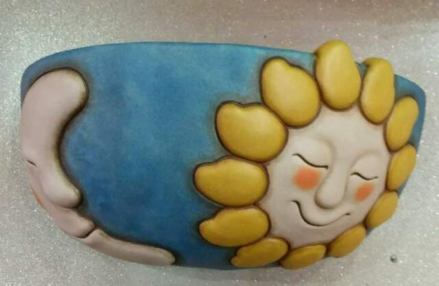 Applique in ceramica thun nuovo con scatola mai usata