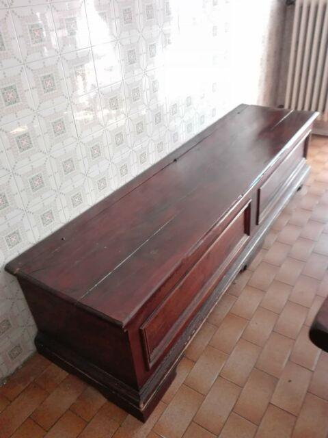 Cassapanca in legno di rovere cm 200 x 53 Altezza cm 47