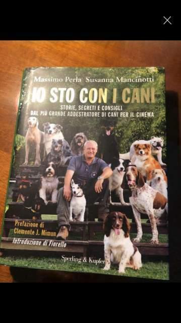 """Libro """"Io sto con i cani"""" di M. PERLA"""