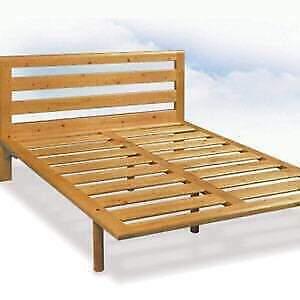 Rete letto matrimoniale legno massello marca FAGUS