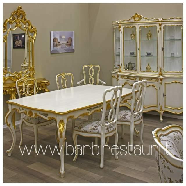 Sala Da Pranzo Barocco Moderno