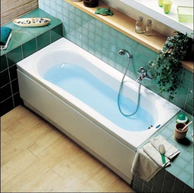 Vasca da bagno 170x80 Clodia Ceramica Dolomite da Incasso