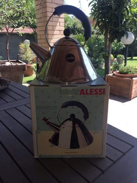 BOLLITORE ALESSI con scatola in ottime condizioni