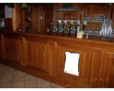Banconi in legno per irish pub, london pub, birreria