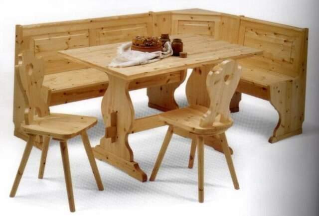 Giropanca Set completo in legno massello
