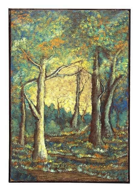 Mauro Folchi pittore (Spoleto ): Dipinto a olio su tela