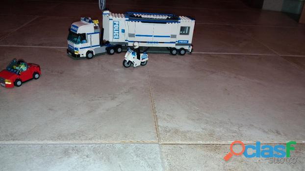 Camion della polizia Lego
