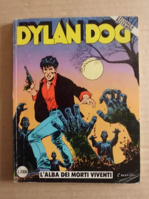 Dylan Dog n 1 l' alba dei morti viventi seconda ristampa