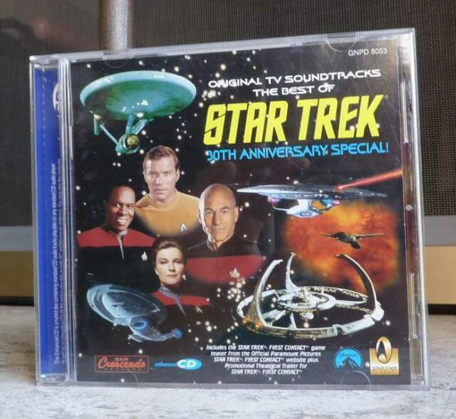 The best of Star Trek - 30 anniversario - musiche serie TV