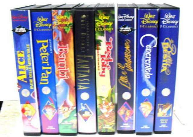 VHS Disney vari titoli