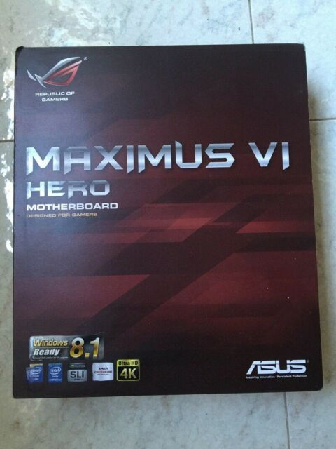 Scheda Madre ASUS MAXIMUS VI HERO motherboard socket LGA