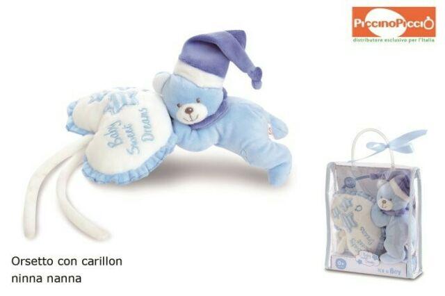 Gw jm baby orsetto c/carillon boy /m - spedizione