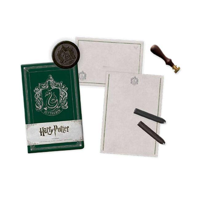 Gw jm harry potter deluxe stationery set slytherin -