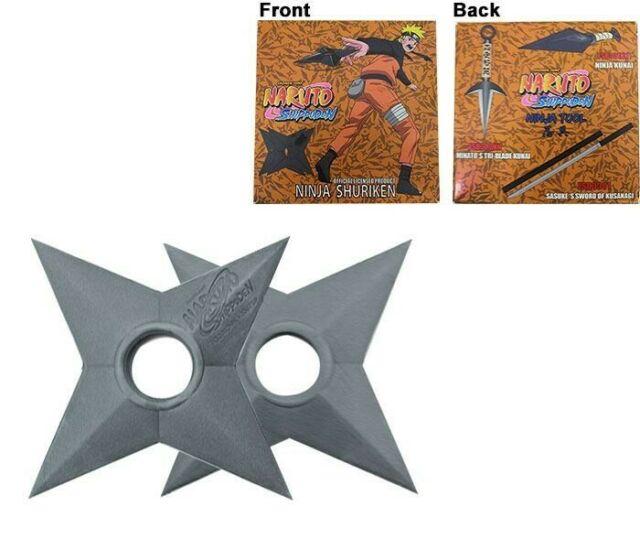 Gw jm naruto shippuden foam replica 2-pack shuriken
