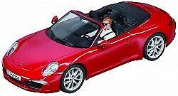 Porsche 911 carrera s cabrio (red)