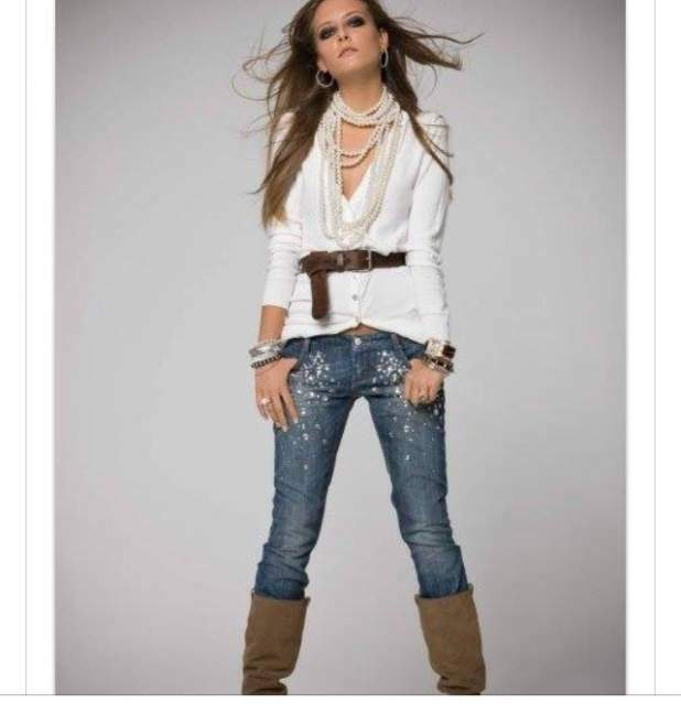 Jeans Denny Rose tg L