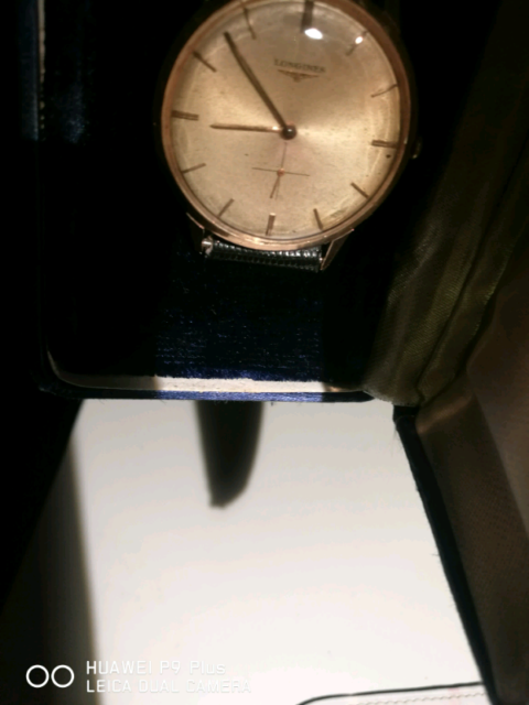 Longines cal. 19.4 manuale in oro 18k