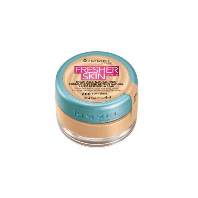 Rimmel fresher skin foundation 200 soft beige