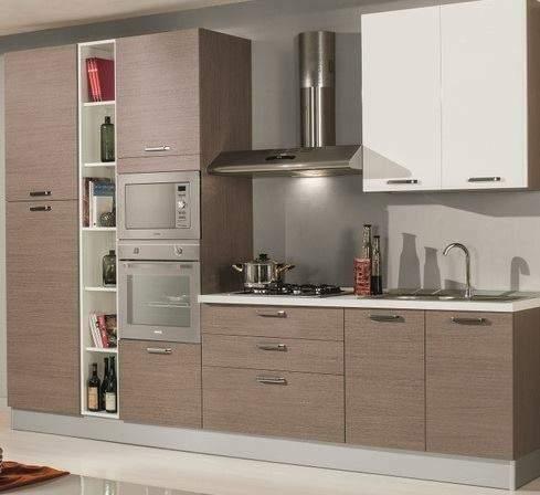 Cucina lube modello alessia in larice grigio | Posot Class