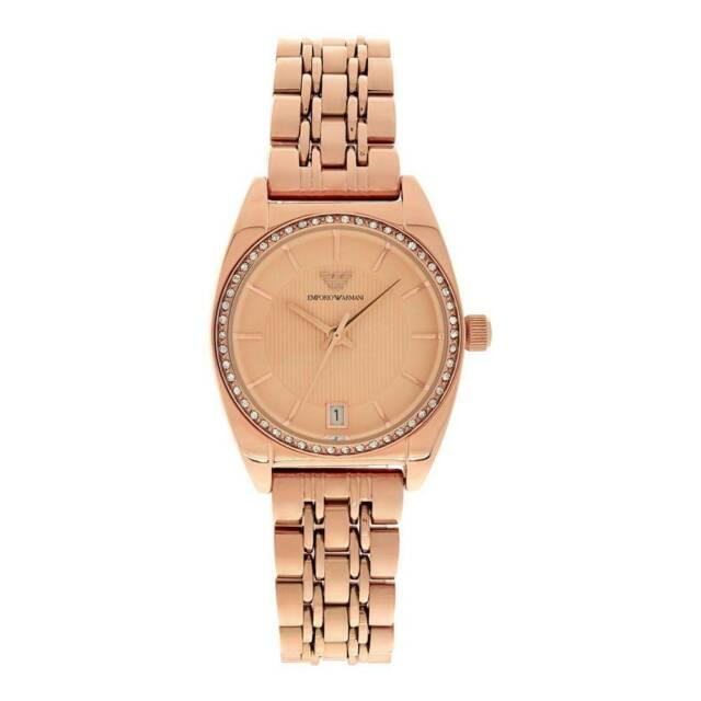 Emporio armani classic rose gold ar orologio donna al