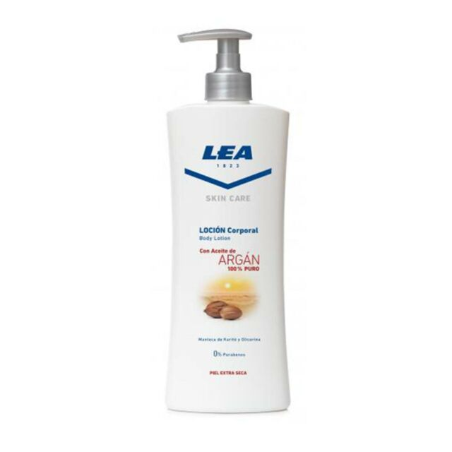 Lea skin care lozione per il corpo con olio di argan pelle a