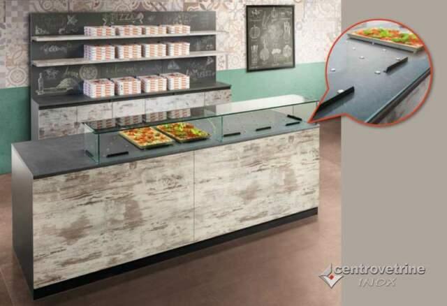 Pizzeria completa mod. Easy Deluxe con banco da 250
