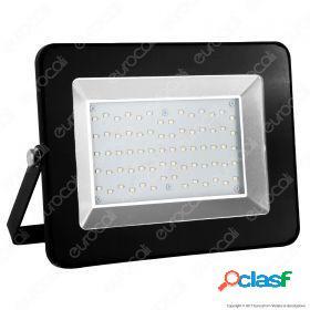 100W LED Floodlight I-Series Black Body 6000K