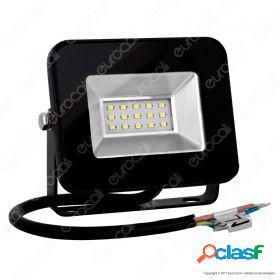 10W LED Floodlight I-Series Black Body 6000K
